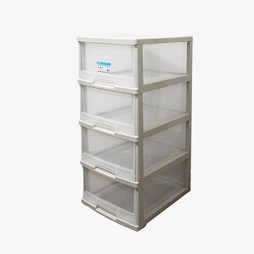 JAPANHOME4層透明儲物櫃