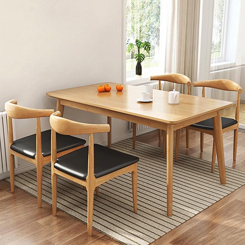 1+41+4 實木餐桌椅套裝