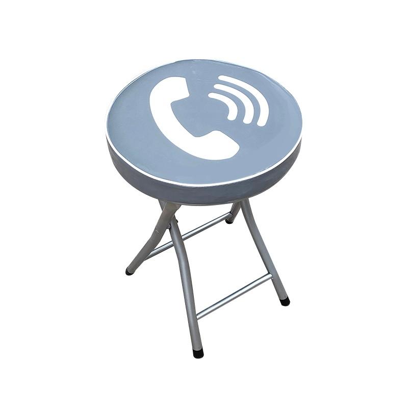 JAPAN HOME厚墊摺凳 - 來電圖案
