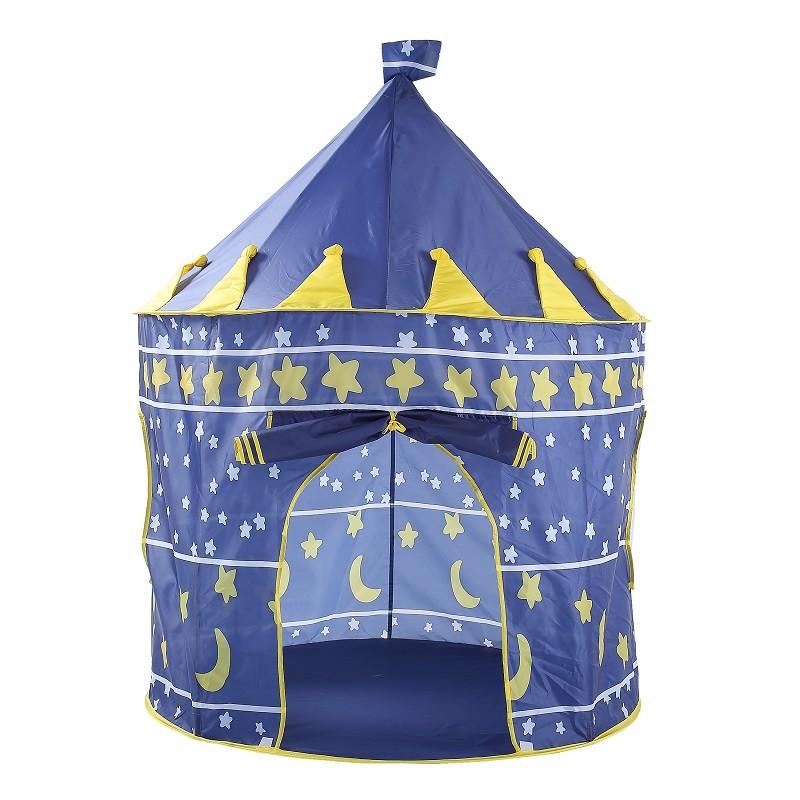 兒童室內帳蓬遊戲屋 - 藍色堡壘