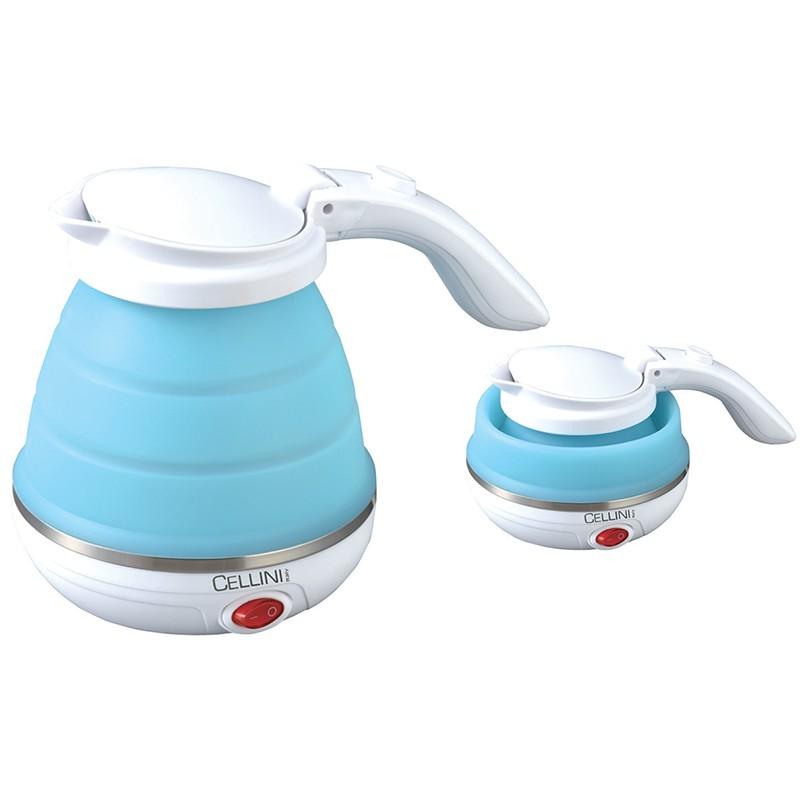 徹里尼雙電壓摺疊式旅行水壺