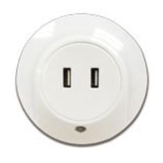 陽光牌LED小夜燈(可作USB充電器)