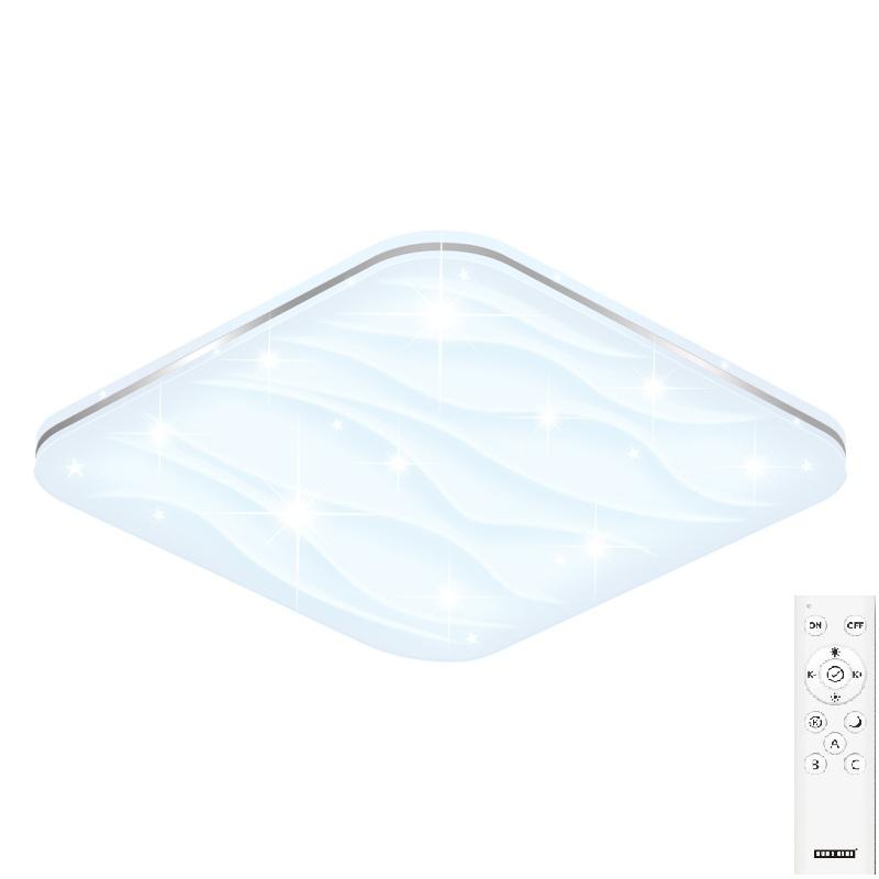 陽光48W 智能遙控吸頂燈SN款(供應商發貨, 到貨將另行通知取貨)
