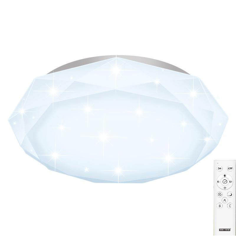 陽光38W 智能遙控吸頂燈B款(供應商發貨, 到貨將另行通知取貨)