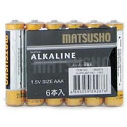 松井1.5V AAA型號鹼性電池 - 6粒