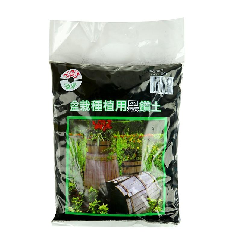 盆栽種植用黑鑽土2公升