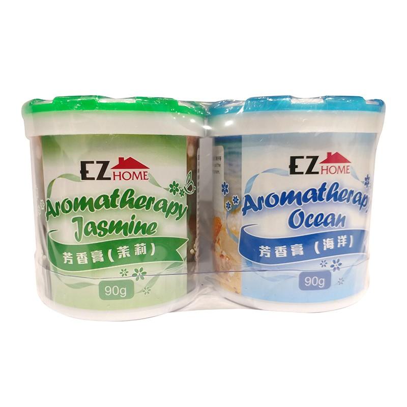 EZ HOMEEZ HOME芳香膏茉莉/海洋2個裝90克x2