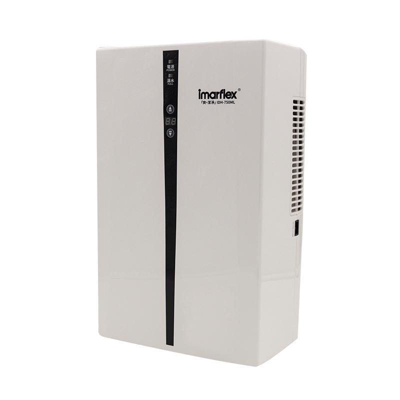 伊瑪迷你靜音抽濕機750ML223x351x181mm *供應商直送 只限門市自取-型號 :  IDH-750ML