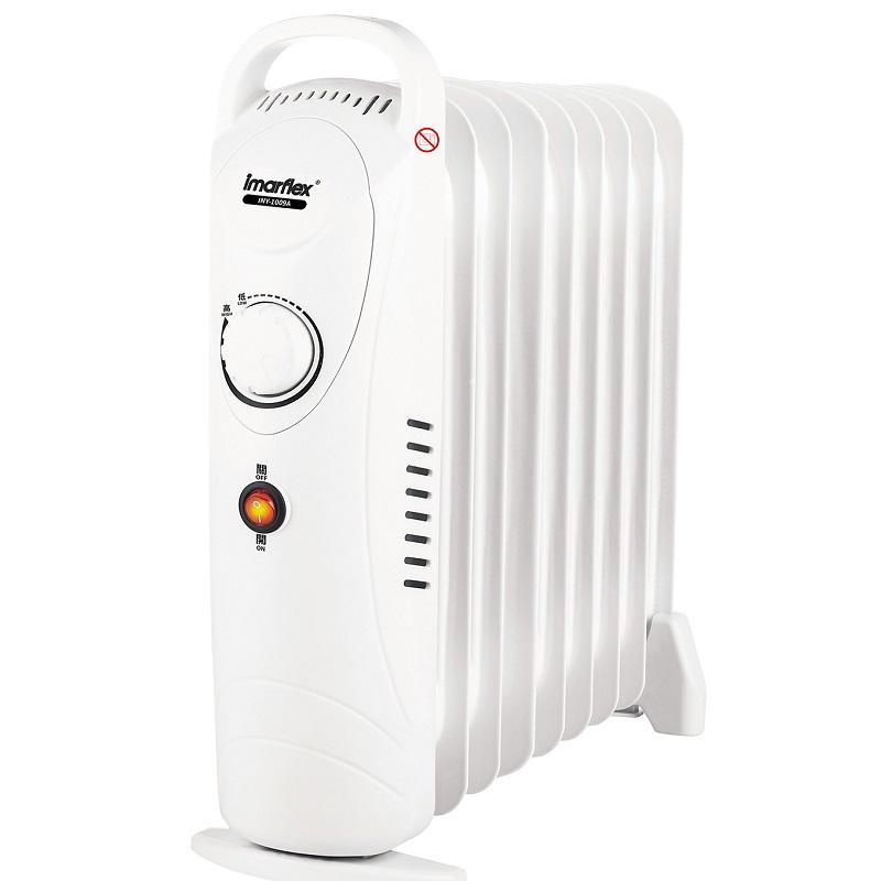伊瑪小型充油暖爐9片 *只限門市自取-型號 : INY-1009A