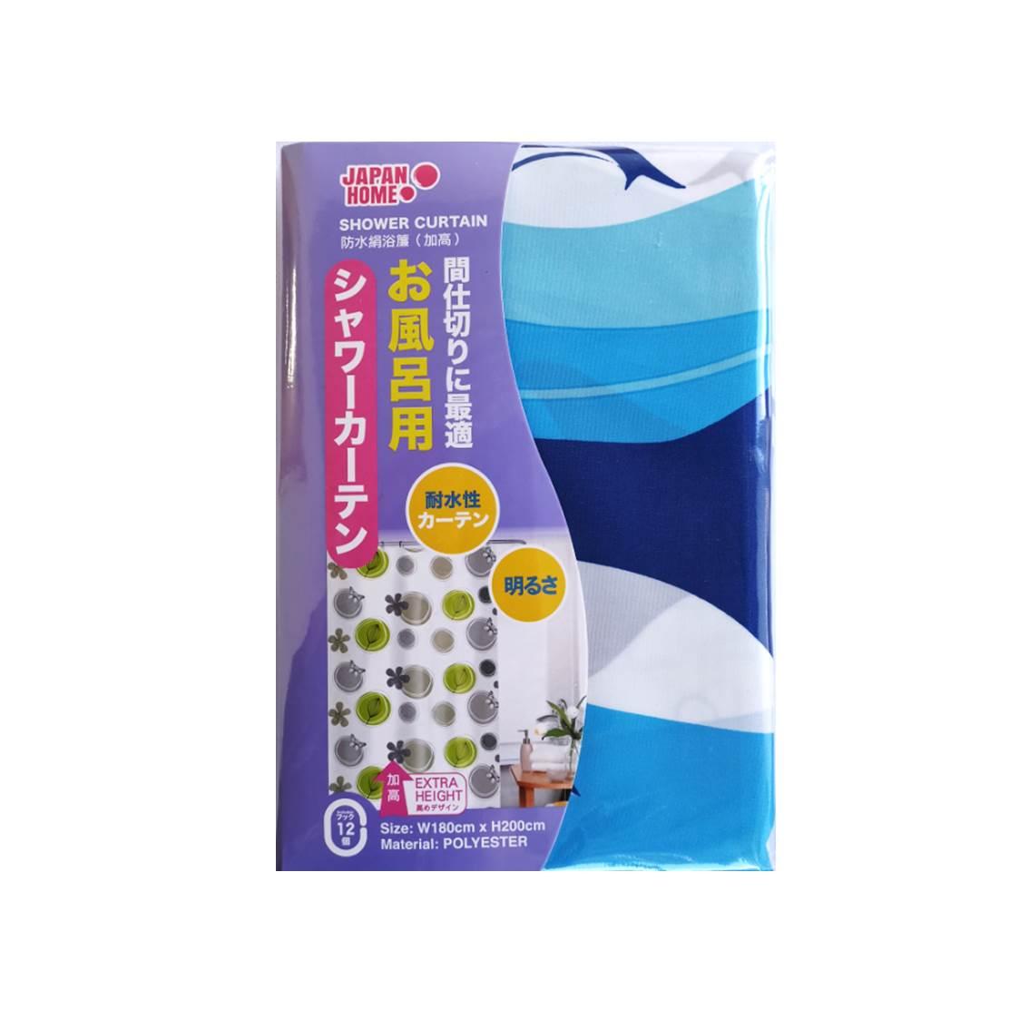 JAPANHOME防水絹浴簾