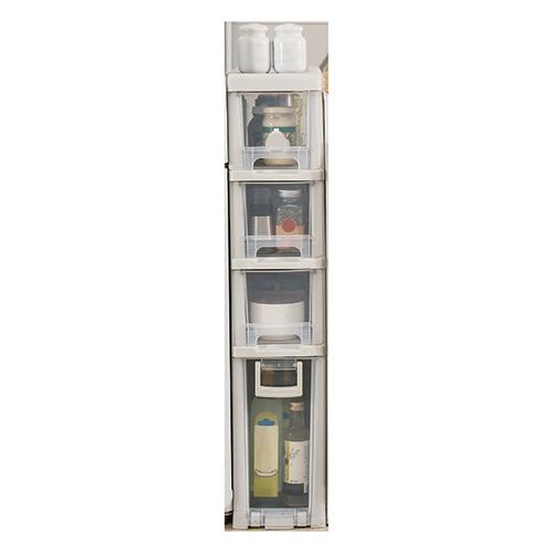 JAPANHOME4層窄身儲物櫃