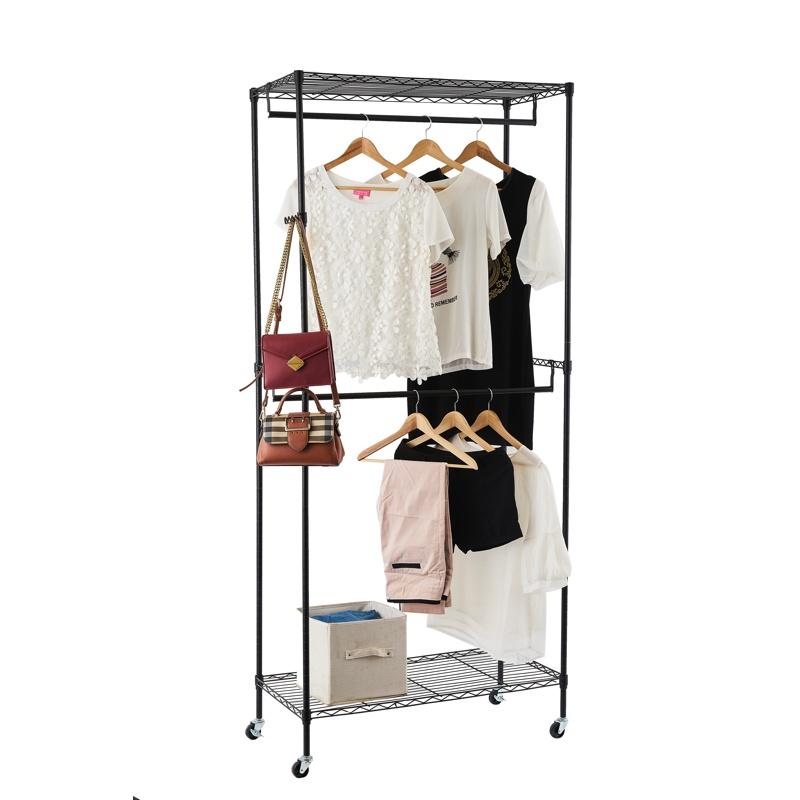 3 層可移動三層可移動掛衣架