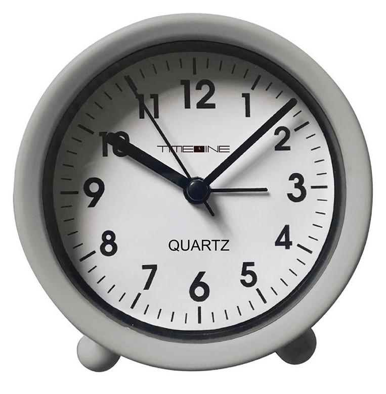 TIMELINE簡約座檯鬧鐘-灰