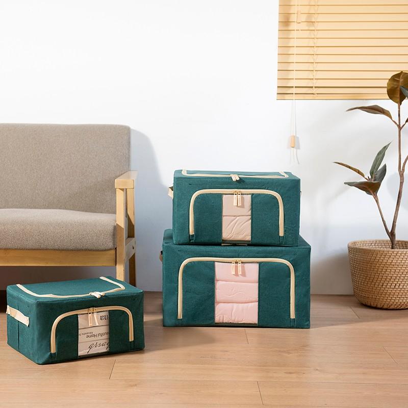 JAPANHOME布藝小號儲物箱 (綠)
