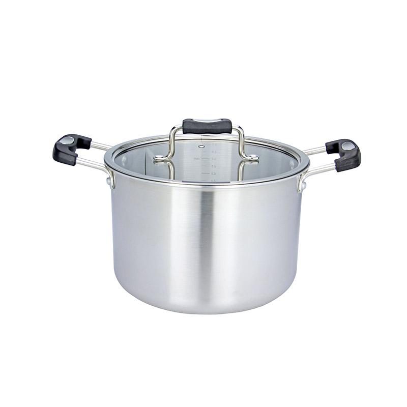 EZ Cook三層復合鋼雙耳煲 24cm