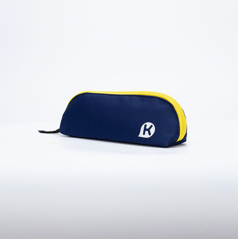 KAGS CHESTER 五口袋多功能筆袋 -海軍藍