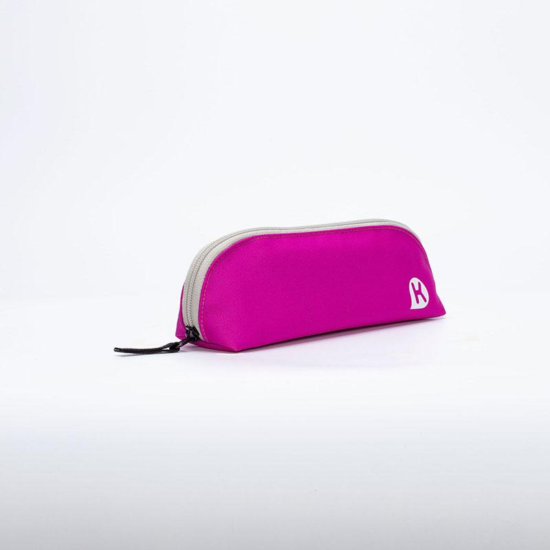 KAGS CHESTER 五口袋多功能筆袋粉紅色