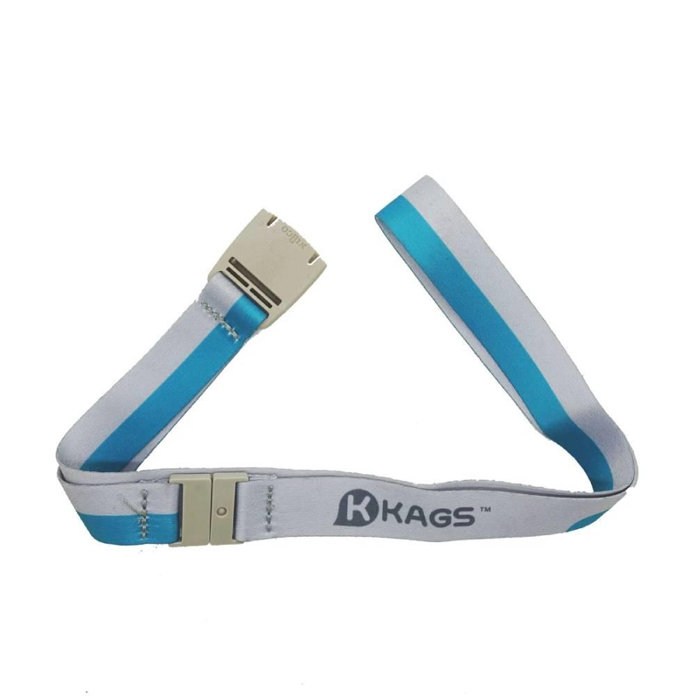 KAGS ASHTON 系列掛頸學生證套連頸繩 - 藍色