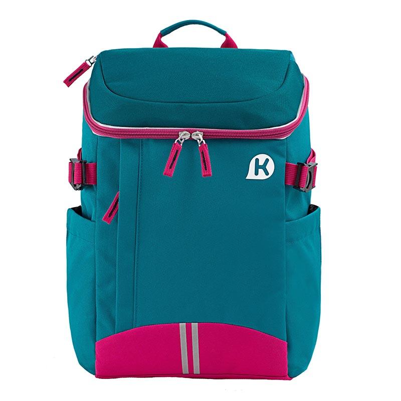 KAGSDUSTIN mini 人體工學小學生用背包-藍綠色
