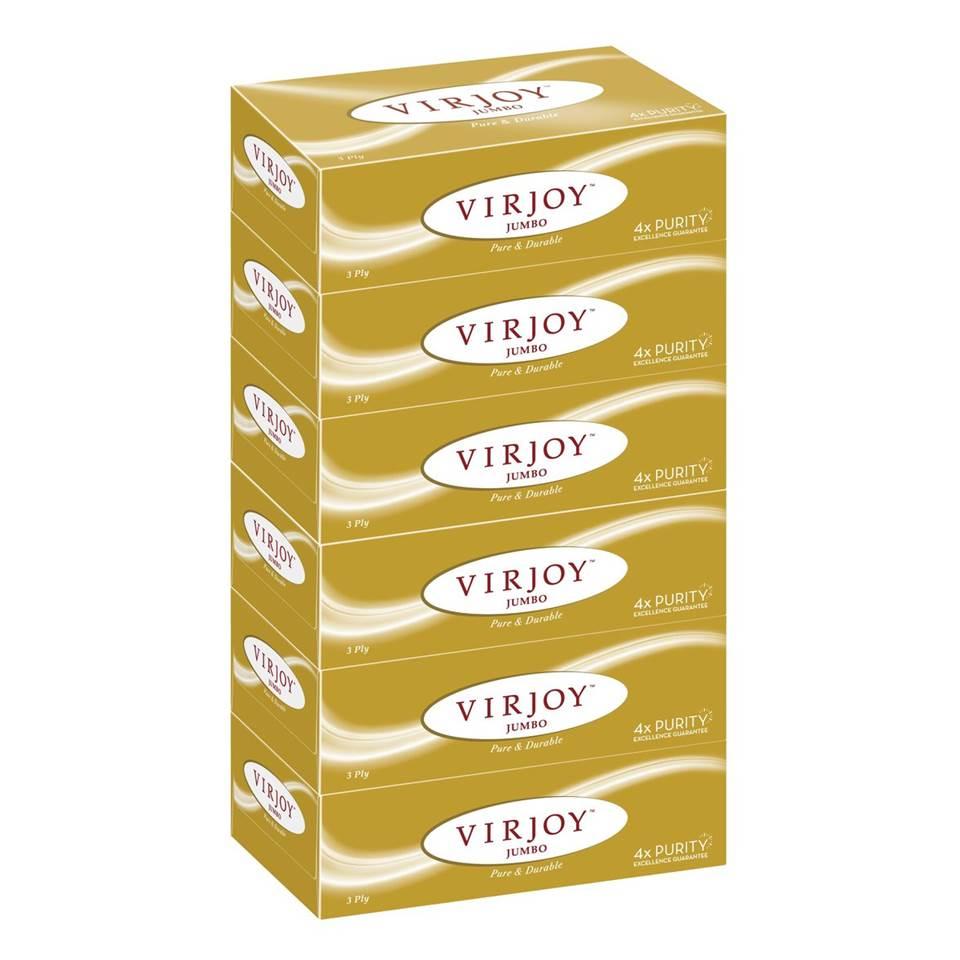 唯潔雅珍寶系列 3層盒裝面紙6盒裝