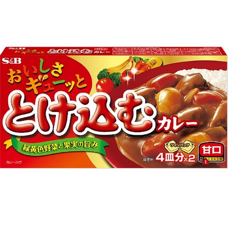 S & B日版美味咖喱-甘口