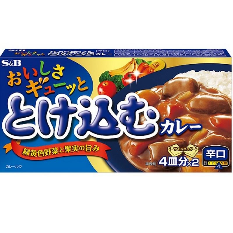 S & B日版美味咖喱-辛口