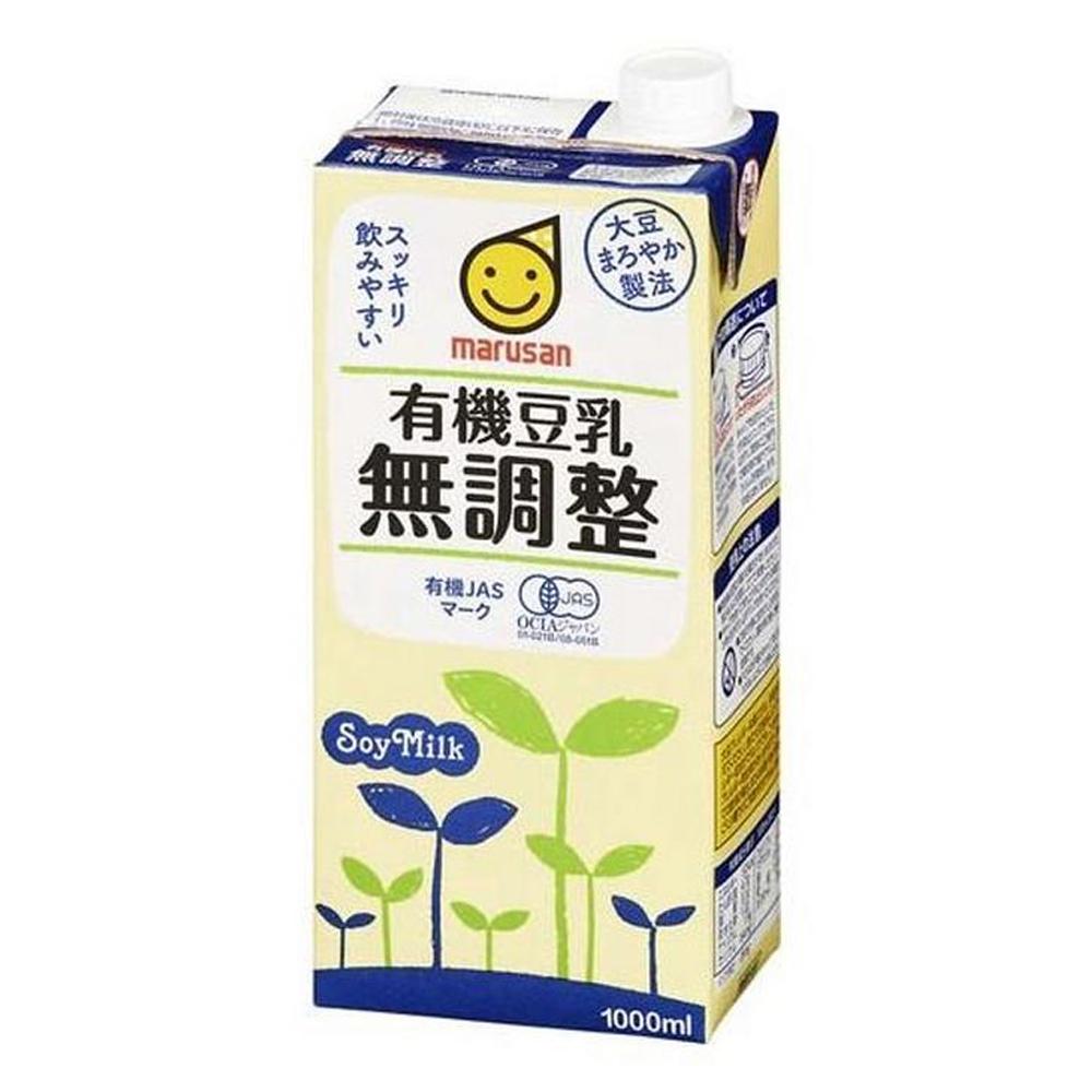 MARUSAN無調整有機豆乳