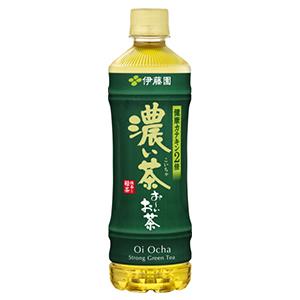 伊藤園日版濃綠茶
