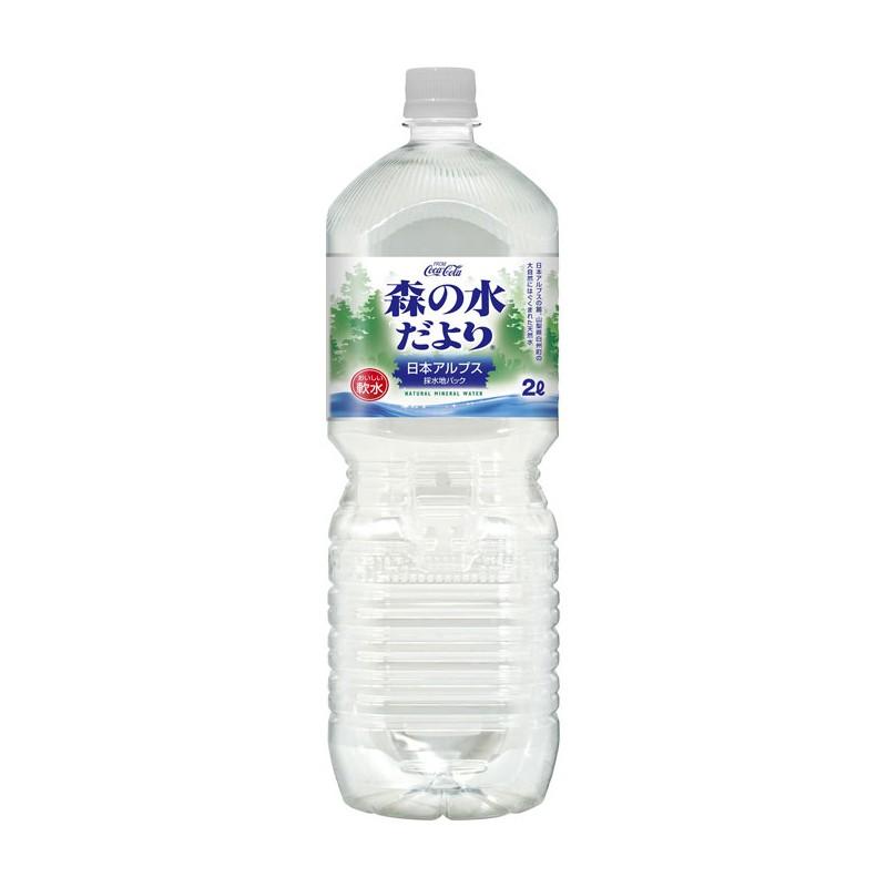 COCA COLA日版森之礦泉水
