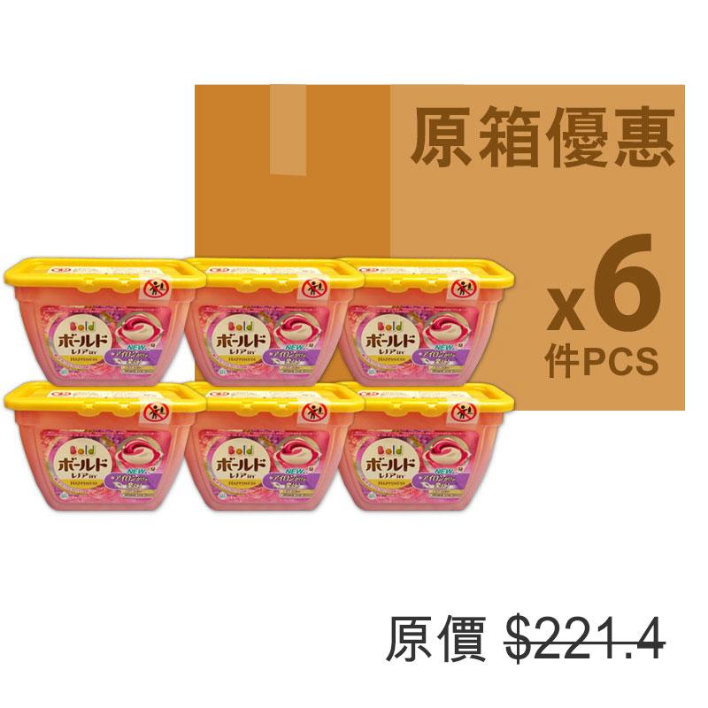 P&GARIEL日本洗衣球花香味原箱