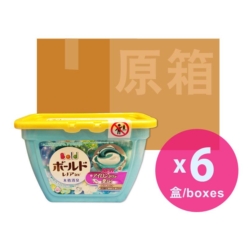 P&GARIEL日本洗衣球(藍色)原箱