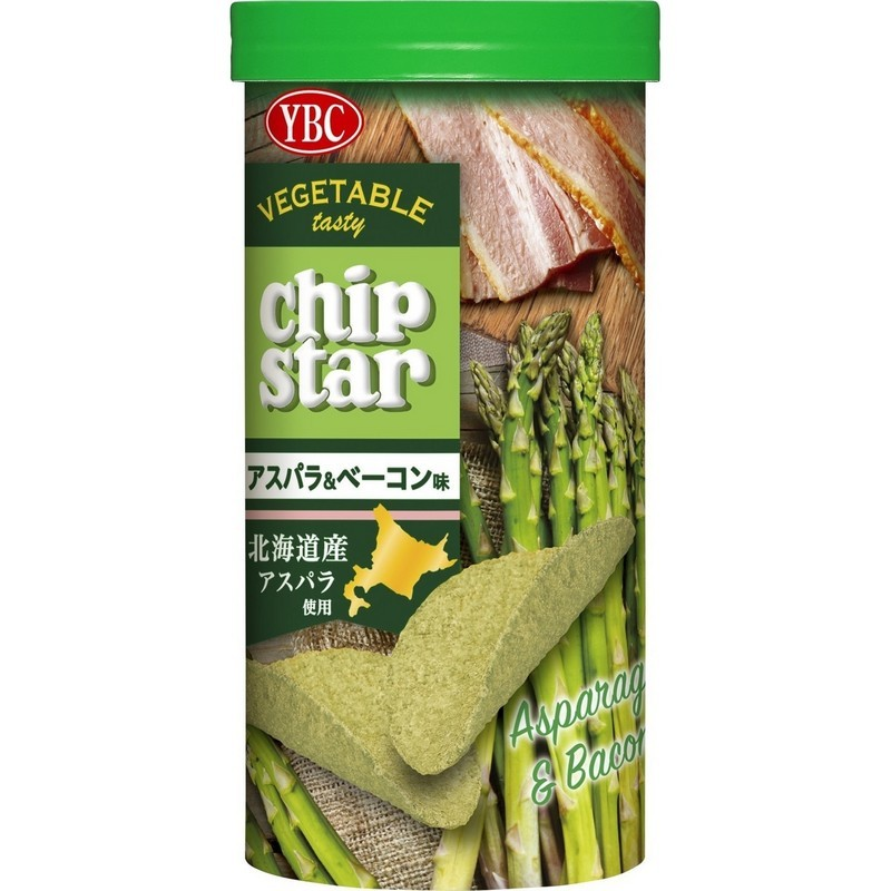 CHIP STARS香燒培根蘆筍薯片 50G