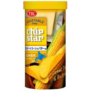 CHIP STARS香甜牛油栗米薯片 50G