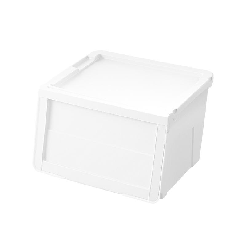 天馬MONO揭門組合式儲物膠箱白色(中)