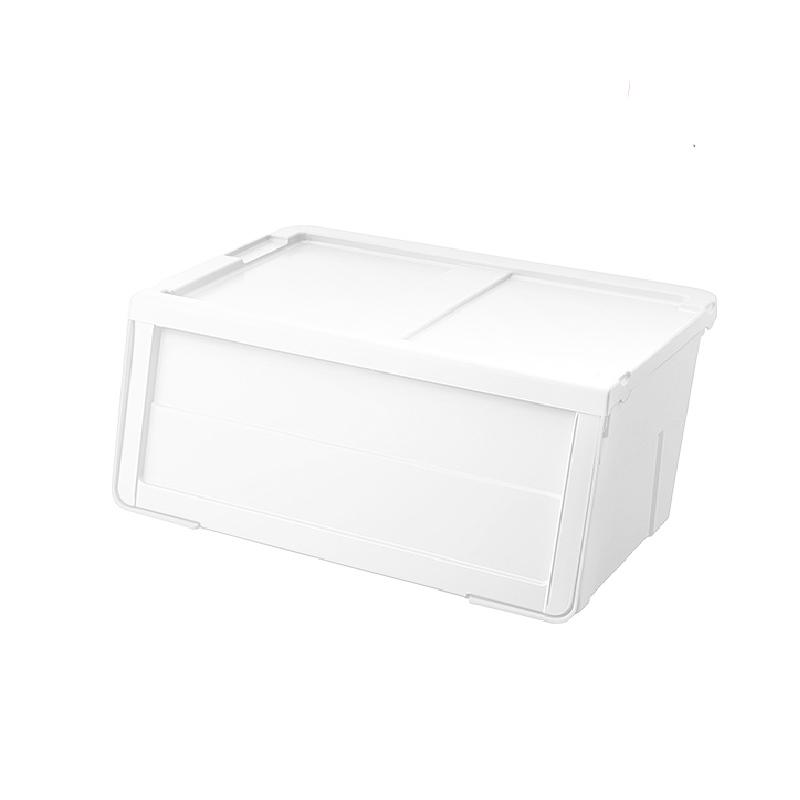 天馬MONO揭門組合式闊身儲物膠箱白色(中)