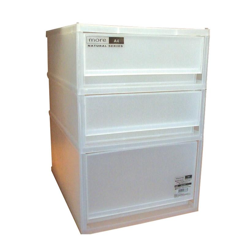 EZ HOME馬來西亞製磨沙三層膠櫃