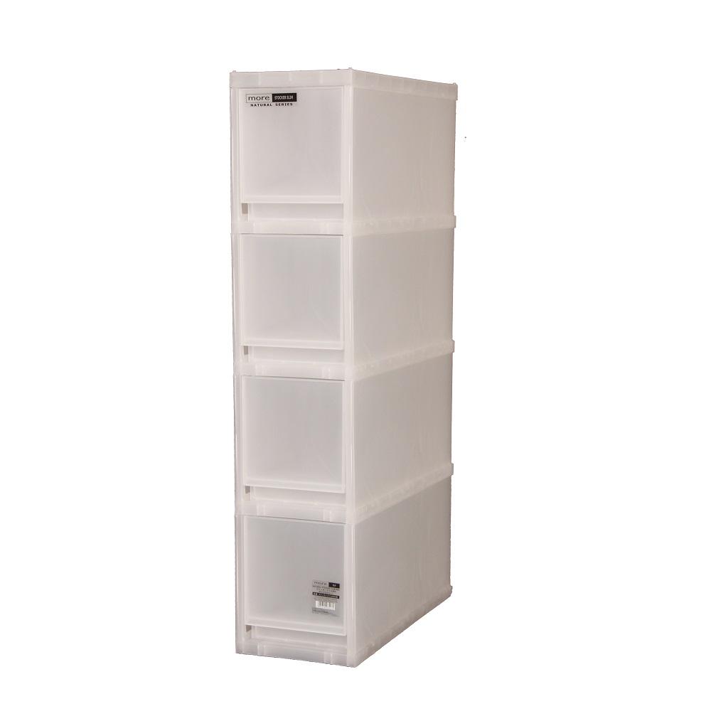 Japanhome4層窄身儲物柜