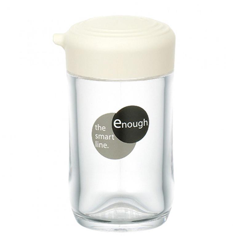 ENOUGH塑膠醬汁樽(小)  米白