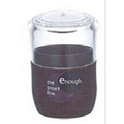 ENOUGH塑膠牙籤筒 (啡)