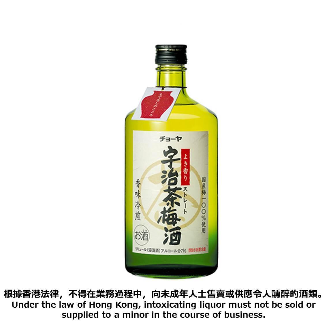 CHOYA宇治茶梅酒 720毫升