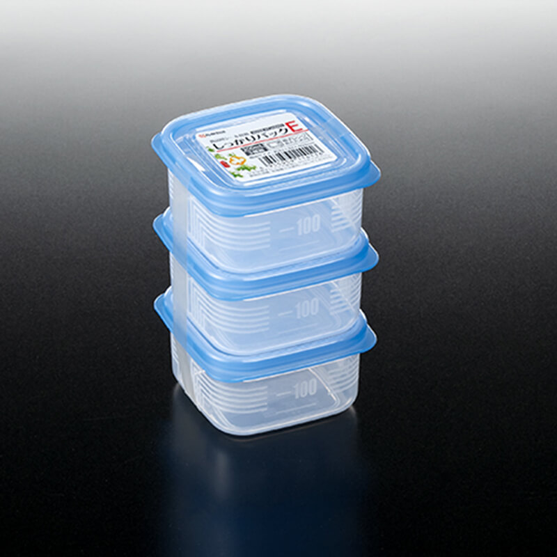 NAKAYA膠食物盒 3個