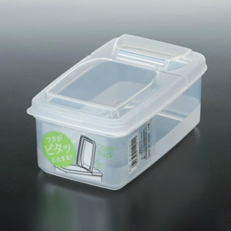 NAKAYA有蓋透明膠盒 500ml