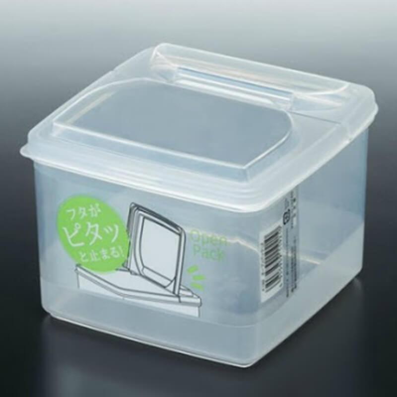 NAKAYA有蓋透明膠盒 1.3L