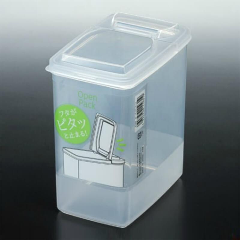 NAKAYA有蓋透明膠盒 1.7L
