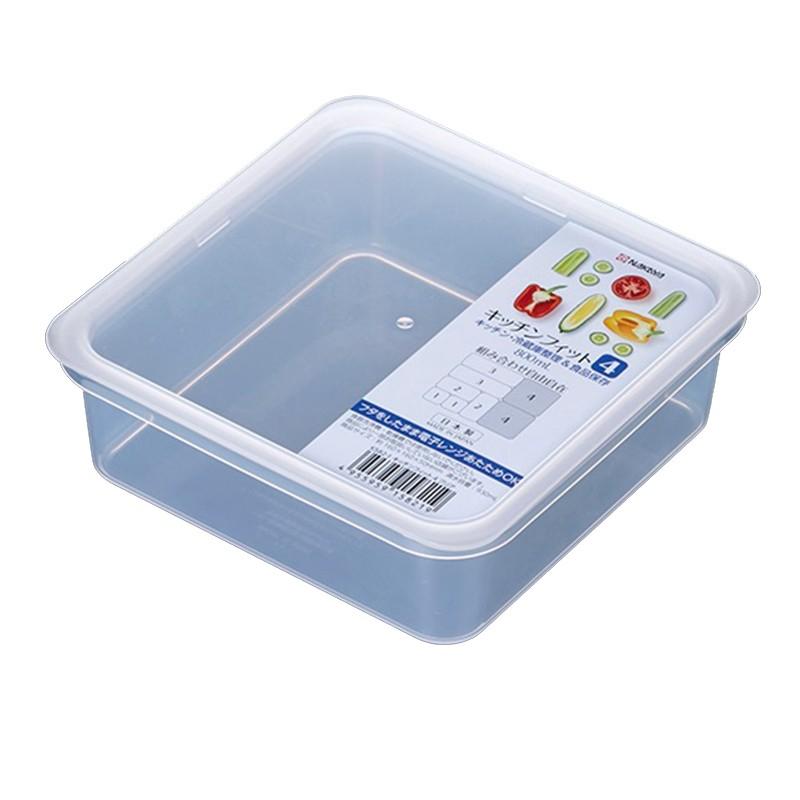 NAKAYA 2P微波方型食物盒