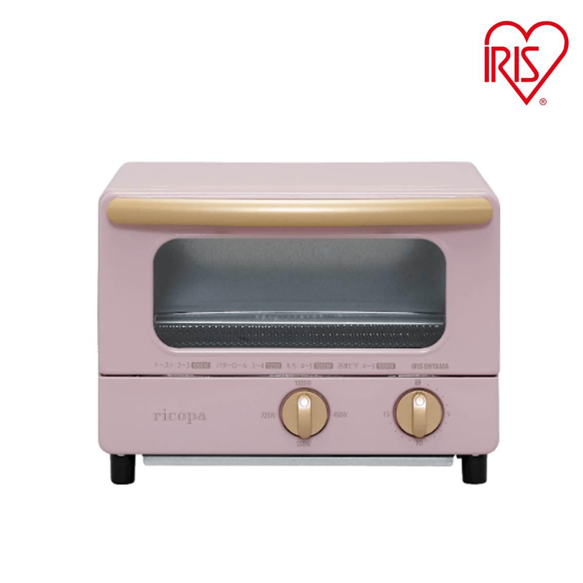 IRIS OHYAMARicopa 迷你焗爐 EOT-01 粉紅色 香港行貨