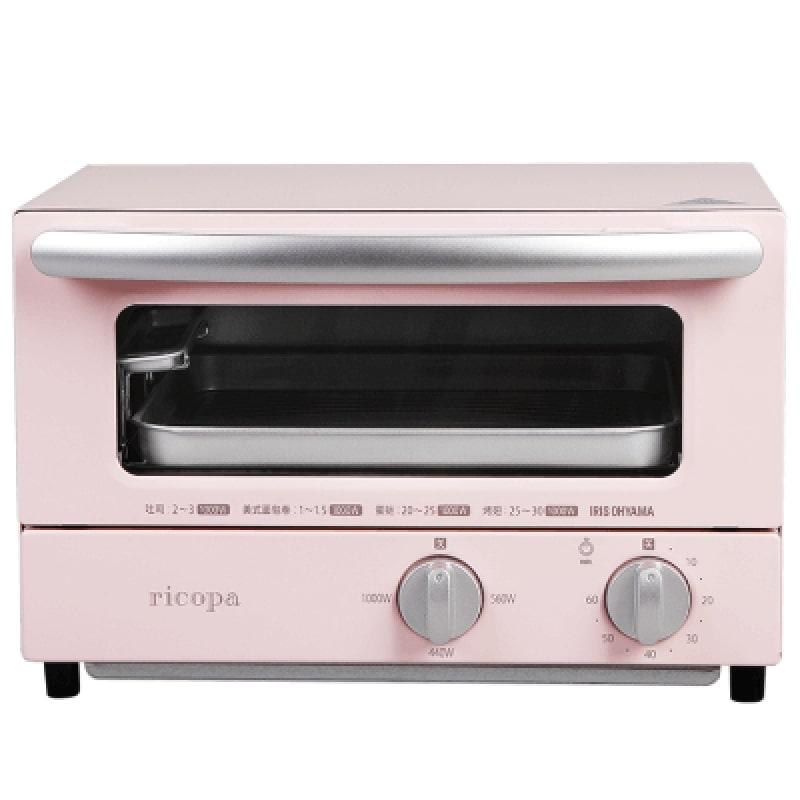 IRIS OHYAMARicopa 迷你焗爐 EOT-R021 粉紅色