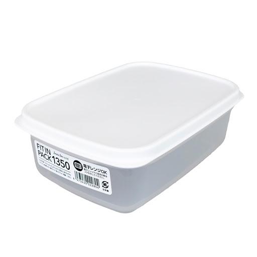FUDO食物膠盒1350-白蓋