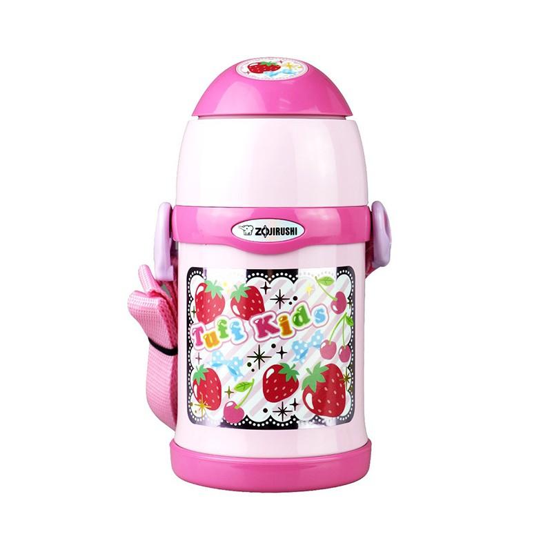 象印兒童保溫壺粉紅色