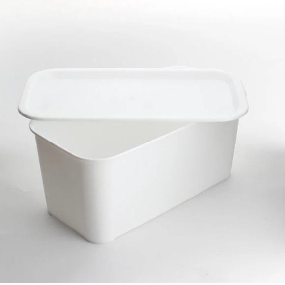 HIMARAYA有蓋收納箱-白色